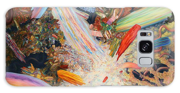 Abstract Expressionism Galaxy Case - Paint Number 39 by James W Johnson