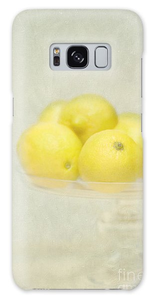 Painterly Lemons Stilllife Galaxy Case