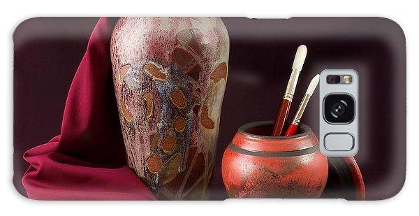Painterly Pots Galaxy Case
