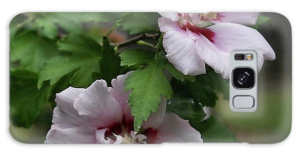 Pair Of Rose Of Sharon Galaxy Case by Rick Friedle
