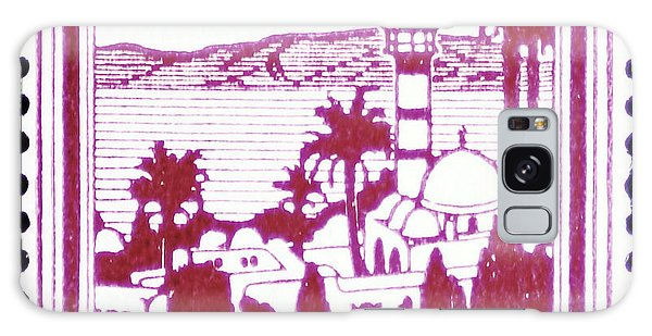 Palestine Vintage Postage Stamp Galaxy Case