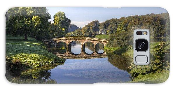 Palladian Bridge At Stourhead. Galaxy Case