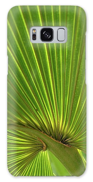 Palm Leaf Galaxy Case