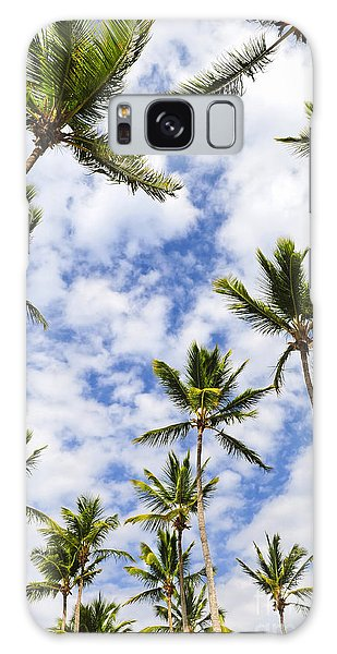 Framing Galaxy Case - Palm Trees by Elena Elisseeva