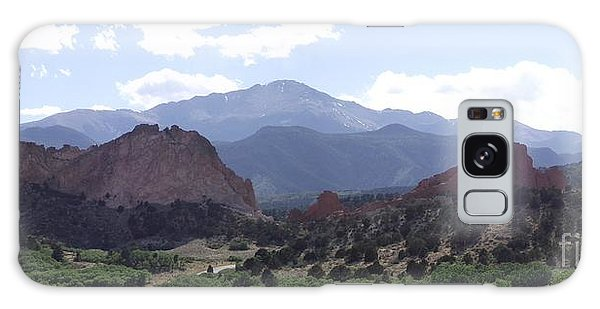 Panoramic Garden Of The Gods Galaxy Case
