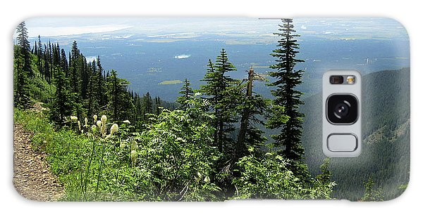 Panoramic Jewel Basin Montana Galaxy Case