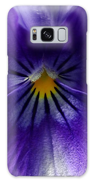 Pansy Abstract Galaxy Case by Lisa Phillips