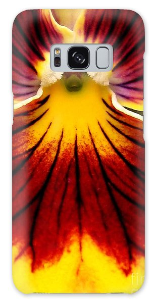 Pansy Named Imperial Gold Princess Galaxy Case by J McCombie