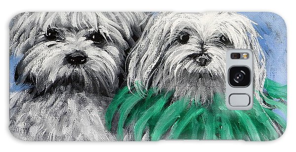 Parade Pups Galaxy Case by Jeanette Jarmon