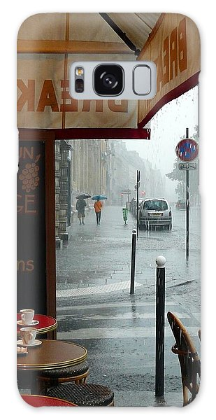 Paris Pluie Galaxy Case by Rdr Creative