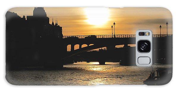 Parisian Sunset Galaxy Case
