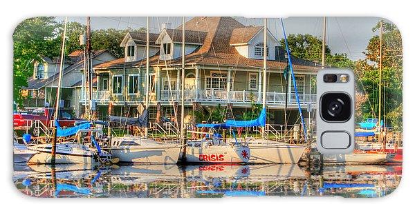 Pascagoula Boat Harbor Galaxy Case