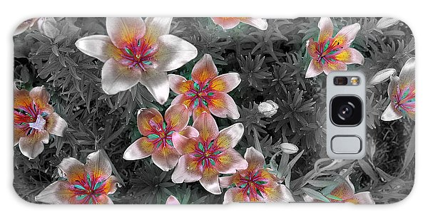 Pasqueflower In Silver Galaxy Case