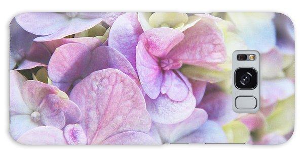 Pastel Hydrangeas - Square Galaxy Case by Kerri Ligatich