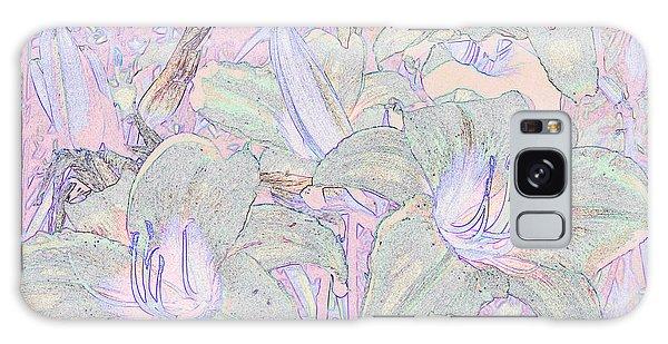 Pastel Lillies Galaxy Case
