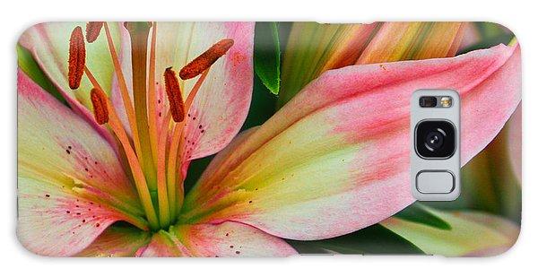 Pastel Pretty Galaxy Case by Lynne Jenkins