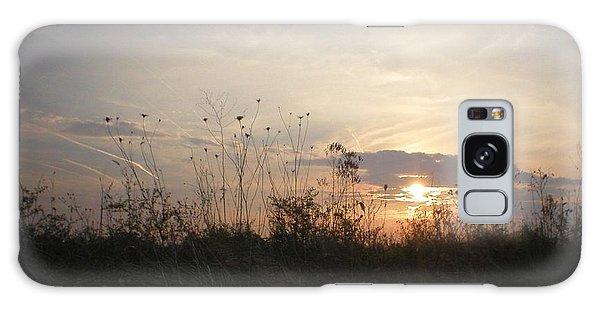 Pasture Sunset Galaxy Case