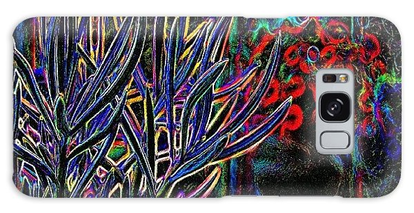 Florals Galaxy Case - Patio Plants II by James Granberry