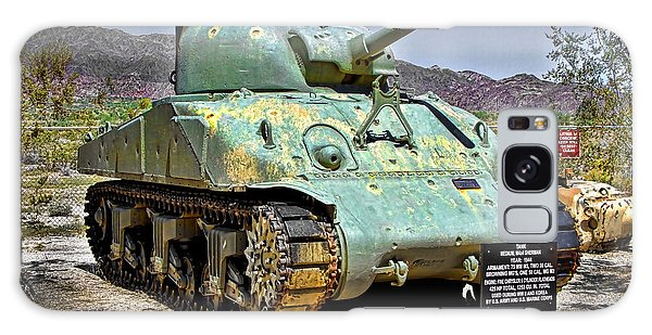 Patton M4 Sherman Galaxy Case