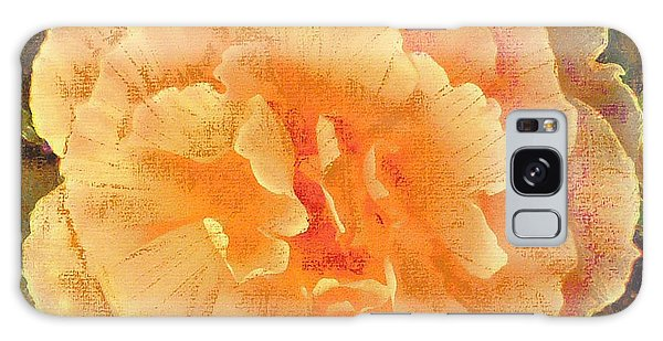 Peach Begonia Galaxy Case by Richard James Digance