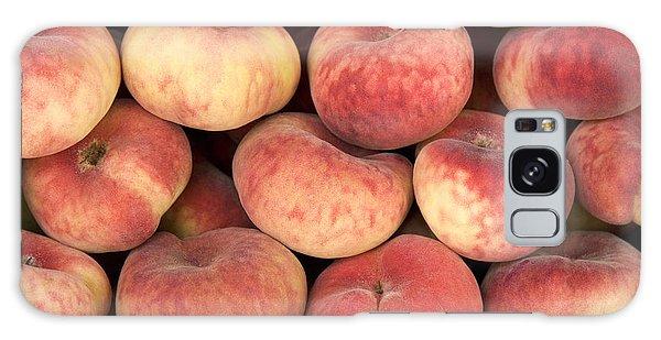 Peaches Galaxy Case by Jane Rix