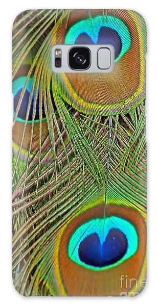 Peacock Feather 2 Galaxy Case