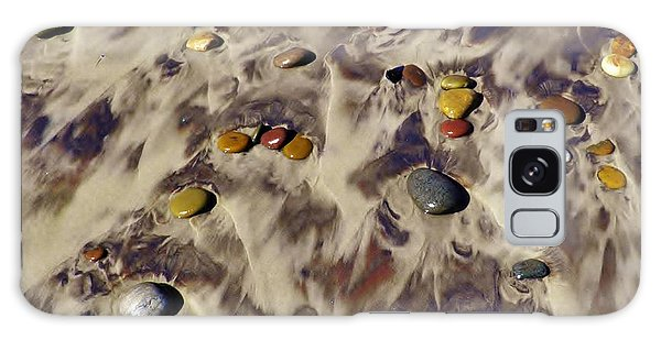 Pebbles On Beach Galaxy Case by Werner Lehmann