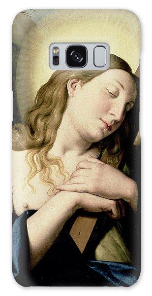 Religious Galaxy Case - Penitent Magdalene by Il Sassoferrato