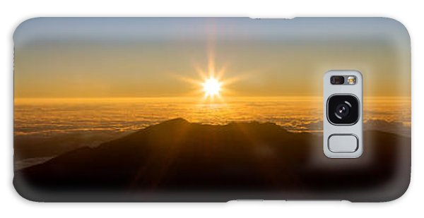 Perfect Sunrise Galaxy Case by JM Photography