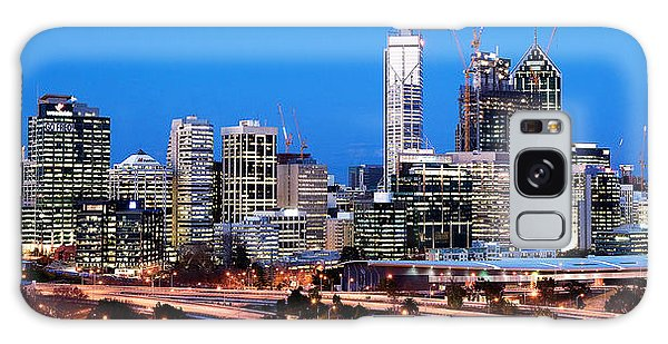 Perth City Night View From Kings Park Galaxy Case by Yew Kwang