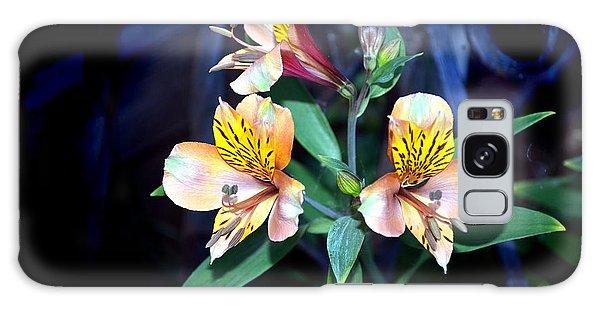 Peruvian Lily In My Garden Galaxy Case