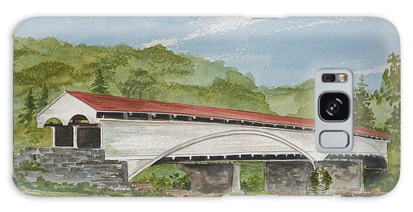 Philippi Covered Bridge  Galaxy Case