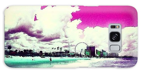 Summer Galaxy Case - Pic Redo #beach #summer #prettycolors by Katie Williams