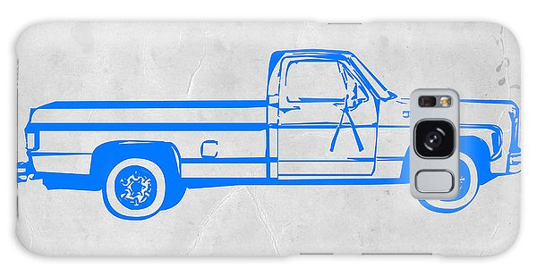 Truck Galaxy S8 Case - Pick Up Truck by Naxart Studio
