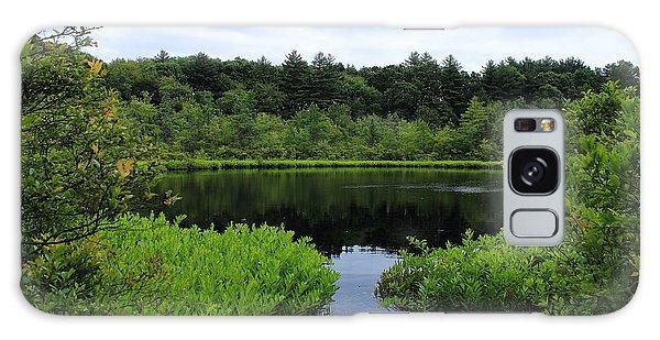 Pine Hole Pond Galaxy Case