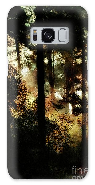 Pine Trees Galaxy Case by Dariusz Gudowicz