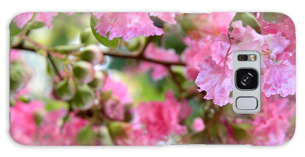 Pink Blooms Galaxy Case