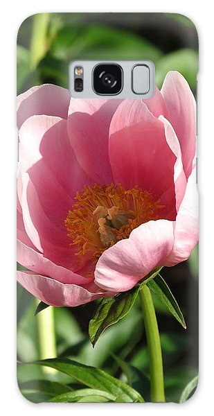 Pink Floral Galaxy Case by Rebecca Overton