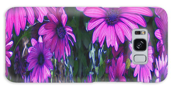 Pink Flower Power Galaxy Case
