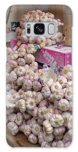 Pink Garlic Galaxy Case by Carla Parris