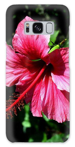 Pink Hibiscus2 Galaxy Case