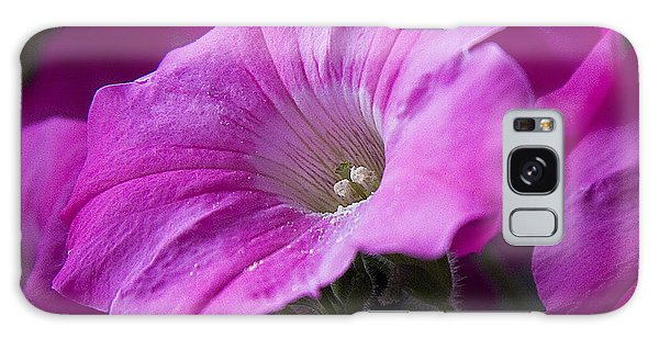 Pink Petunia II Galaxy Case
