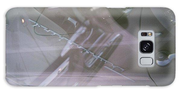 Pink Retro Angle Attack Galaxy Case by Carolina Liechtenstein