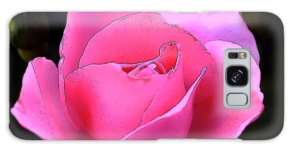 Pink Rose Day Galaxy Case by Clayton Bruster