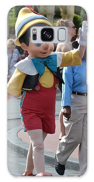 Pinocchio Galaxy Case by Bonnie Myszka