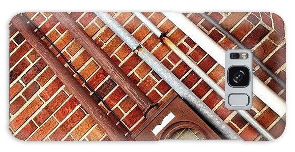 #pipes #brick #industrial #ikon Galaxy Case