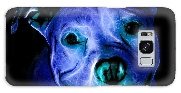 Pitbull Terrier - F - S - Bb - Blue Galaxy Case