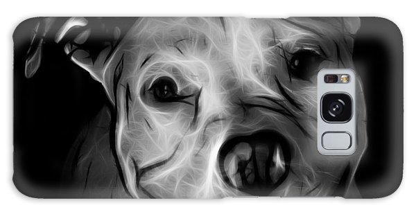Pitbull Terrier - F - S - Bb - Greyscale Galaxy Case