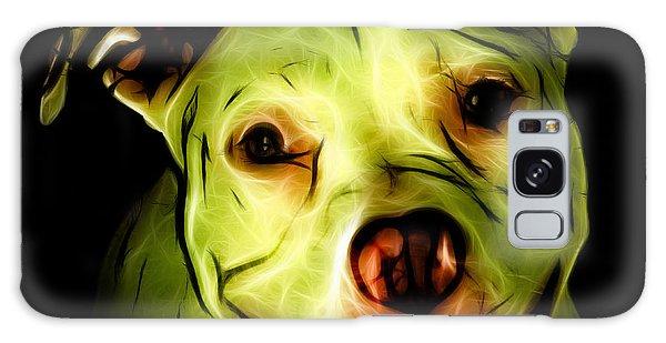 Pitbull Terrier - F - S - Bb - Yellow Galaxy Case