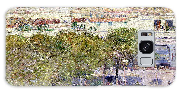 Central America Galaxy Case - Place Centrale And Fort Cabanas - Havana by Childe Hassam